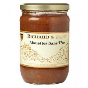 Richaud & badet Alouettes Sans Tête, Bocal 600 gr