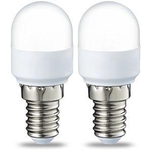 Amazon Basics Ampoule LED E14 T25, avec culot à vis, 1.8 W (équivalent ampoule incandescente de 15 W), blanc froid - Lot de 2