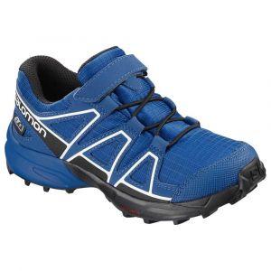 Salomon Speedcross CSWP K, Chaussures de Course sur Sentier Mixte Enfant, Bleu Indigo Bunting/Sky Diver/White, 27 EU