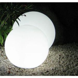 Batimex Boule lumineuse blanche sur secteur Ø40 cm