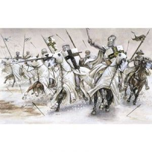 Italeri 6019 - Figurines médiévalesChevaliers Teutoniques