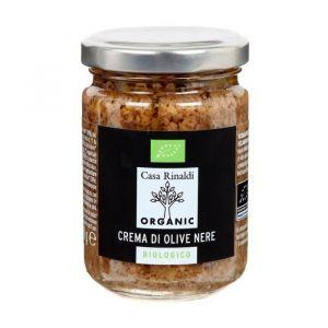 Casa Rinaldi Crème d'olive noire bio - 140 g