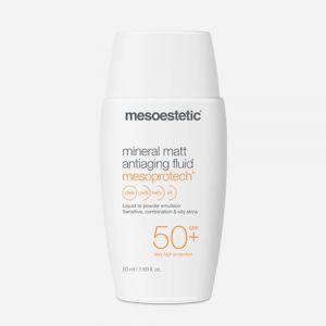 Mesoestetic Mesoprotech Mineral Matt Antiaging Fluid Spf50+ 50ml