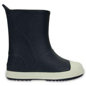 Crocs Bump It Boot Kids, Mixte Enfant Bottes, Bleu (Navy/Oyster), 29-30 EU