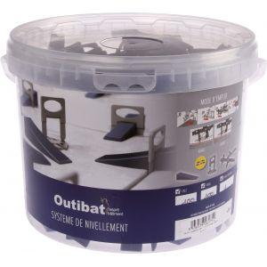 Outibat Croisillon auto-nivelant - Largeur 1 mm - Vendu par 200