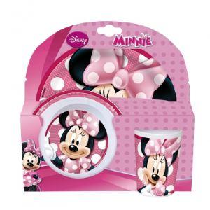 Set repas 3 pièces Minnie Mouse