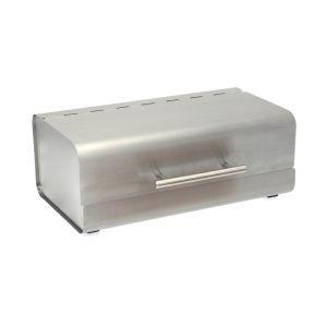 Boîte à pain rectangulaire inox