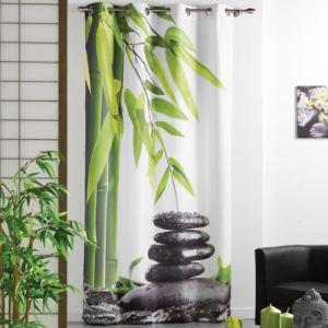 Rideau à oeillets Equilibre Photoprint (140 x 260 cm) - Comparer ...