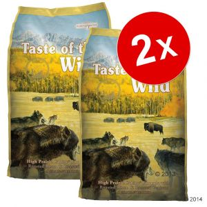 Taste of the wild Croquettes pour chien Wetlands 13 kg