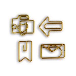 D.I.Y. with Toga 8 trombones fantaisie - métal doré
