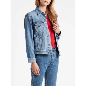Levi's Ex Boyfriend Trucker veste en jean Femmes bleu T. XS
