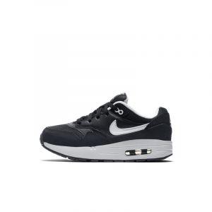 Nike Baskets Chaussure Air Max 1 pour Jeune enfant - Noir Taille 32