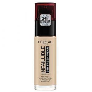 L'Oréal Infaillible 24H Fresh Wear 130 Beige Peau - Fond de teint liquide