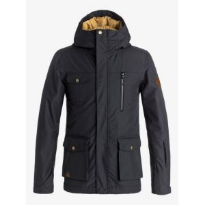 Quiksilver Raft Youth Jkt Black