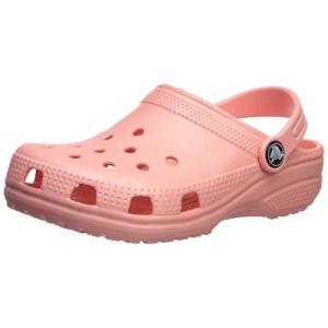 Crocs Classic Clog, Sabots Mixte Enfant, Rose (Melon) 22/23 EU