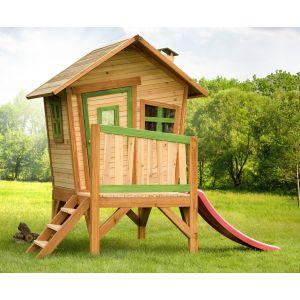 Axi Robin - Maisonnette en bois sur pilotis