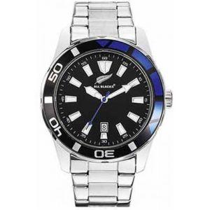 All Blacks 680301 - Montre pour homme avec bracelet en acier
