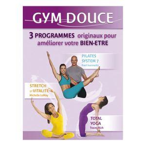 Coffret Gym douce : Yoga Fondamental + Pilates 7 + Stretch et votalite