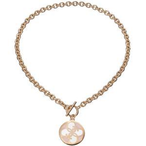 Guess UBN11470 - Collier et pendentif Breloque Ronde Dorée pour femme