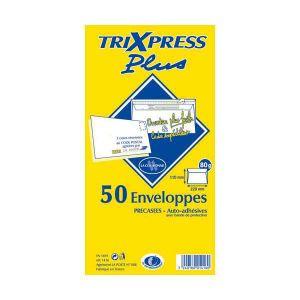 La couronne 50 enveloppes Tri Xpress précasées 11 x 22 cm (80 g)