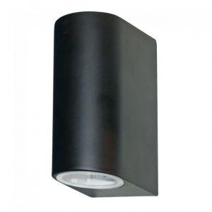 Searchlight Applique d'extérieur LED & Weranda (Gu10 Led) Ip44 2 flammes noir
