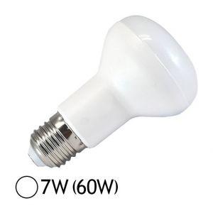 Vision-El Ampoule Led 7W (60W) E27 Spot opaque R63 Blanc jour 6000°K
