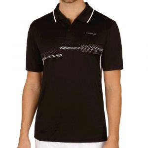 Head Polo pour Homme, Club Technical S Noir