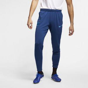 Nike Pantalon de football FC Barcelona Dri-FIT Squad pour Homme - Bleu - Couleur Bleu - Taille M
