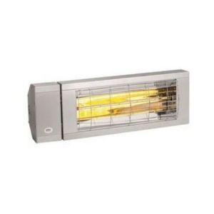 Burda Rampe de chauffage électrique SMART, 1,5KW, BLANC, discrète / terrasse - BHS1524.