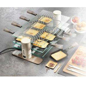 Lagrange 009804 - Raclette 8 Transparence 8 coupelles
