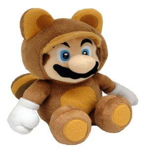 Nintendo Peluche Mario Tanooki 28 cm