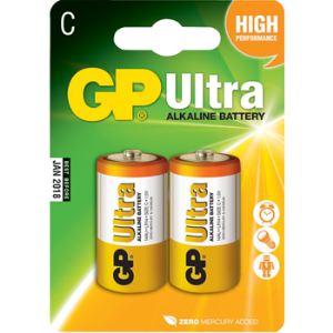 GP Batteries 030.14AU-U2 - 2 piles Alcalines LR14