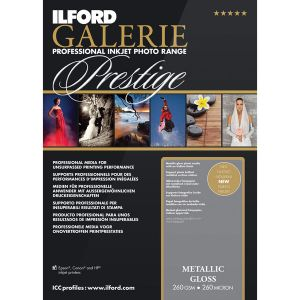 Ilford Papier Galerie Prestige Metallic Brillant - 260g - A2 - 25F
