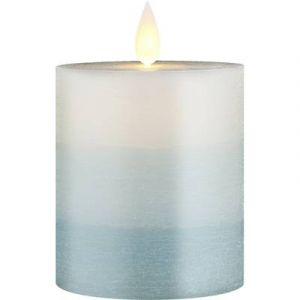 Polarlite Bougie LED en cire véritable pour l'intérieur/extérieur PL-8213555 blanc Ampoule LED blanc chaud 1 pc(s)