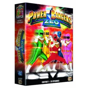 Coffret Power Rangers : Zeo - Coffret 1