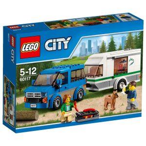 Lego 60117 - City : La camionnette et sa caravane
