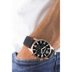 Head Homme Chronographe Quartz Montre avec Bracelet en Cuir HE-006-04