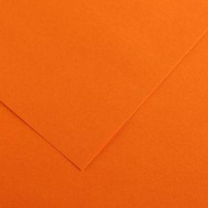 Canson 200040158 - Feuille Iris® Vivaldi® A4 185g/m², coloris orange 9