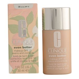 Clinique Even better 06 Honey - Fond de teint éclat correction teint SPF 15 unifie et corrige le teint