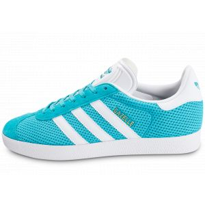 Adidas Gazelle, Baskets Basses Homme, Bleu (Energy Blue/Footwear White/Energy Blue), 46 EU