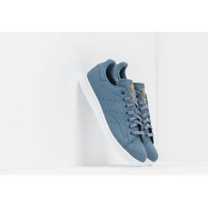 Adidas Baskets cuir Stan Smith Gris - Taille 36;37 1/3;38;39 1/3;40;41 1/3;42