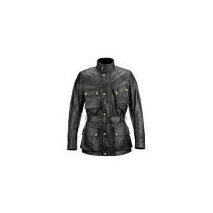 Belstaff Classic Tourist Trophy (noir) - Blouson moto textile pour homme (2013)