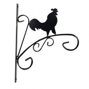 Kingfisher Animal sauvage Panier à suspendre support mural de Garage support pour plantes de jardin Motif coq