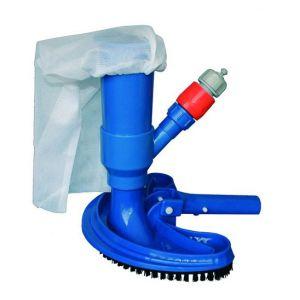 Sunbay 772794 - Kit aspirateur piscine effet venturi brosse demi-lune + un sac
