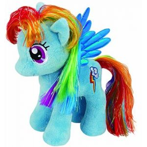 Ty Peluche Rainbow Dash My Little Pony 20 cm