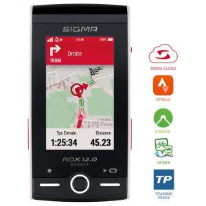 Sigma Compteur GPS ROX 12.0 Sport Set Cardio/Cadence Blanc