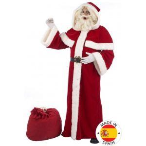 Déguisement Père Noël super luxe adulte (taille M, L ou XL)