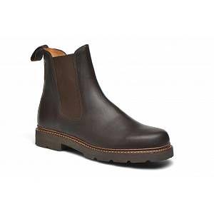 Aigle Quercy - Chaussure d'equitation - Homme - Marron (Dark Brown) - 45 EU (10.5 UK)