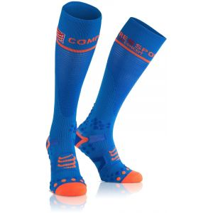 Compressport Collants FullSocks V2 Compr. Bleu 2015