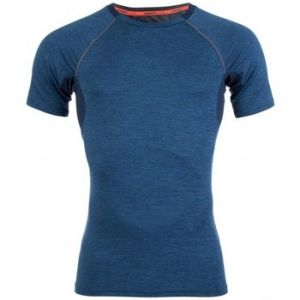 Superdry T-shirt T-shirt Sport Athletic Panel Dark Petrol bleu - Taille EU XXL,EU M,EU L